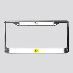 CUTE SOMETIMES COMES IN PAIRS License Plate Frame